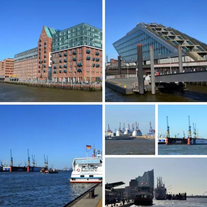 Landungsbrücken und Hafen Hamburg