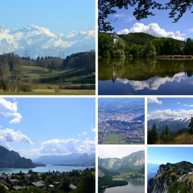Salzburger Land Gebirge und Seen