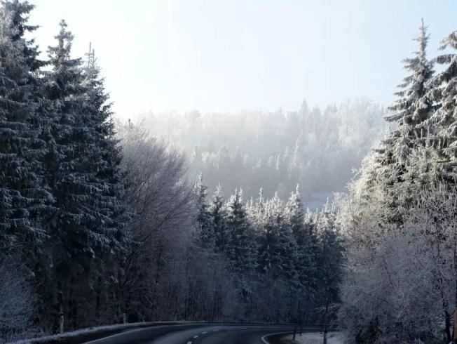 Weihnachten 2016; driving to the Enkelprinz
