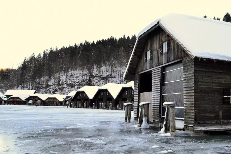 Ausflug  in die bayrische Nachbarschaft ;  Berchtesgaden und  der winterliche Königsee