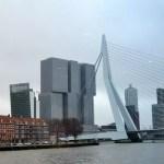 Zu Fuß und per Schiff durch Rotterdam