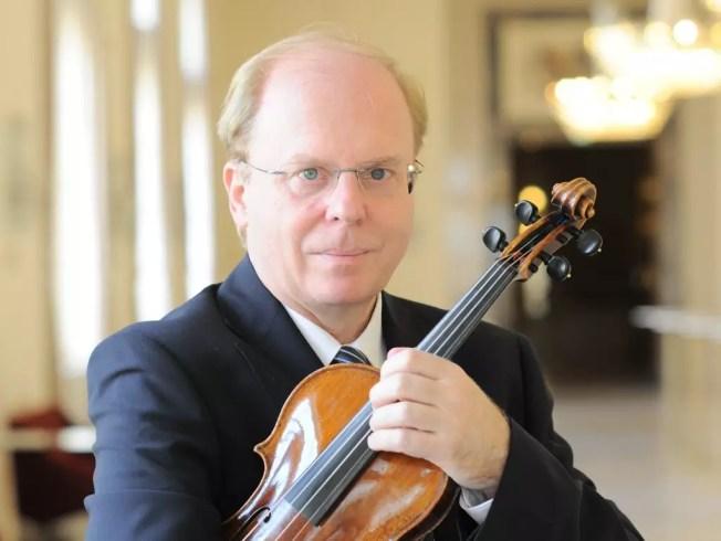 Salzburger Festspiele in der direkten Nachbarschaft; Prof. Gerald Schubert, Geiger bei den Wiener Philharmonikern