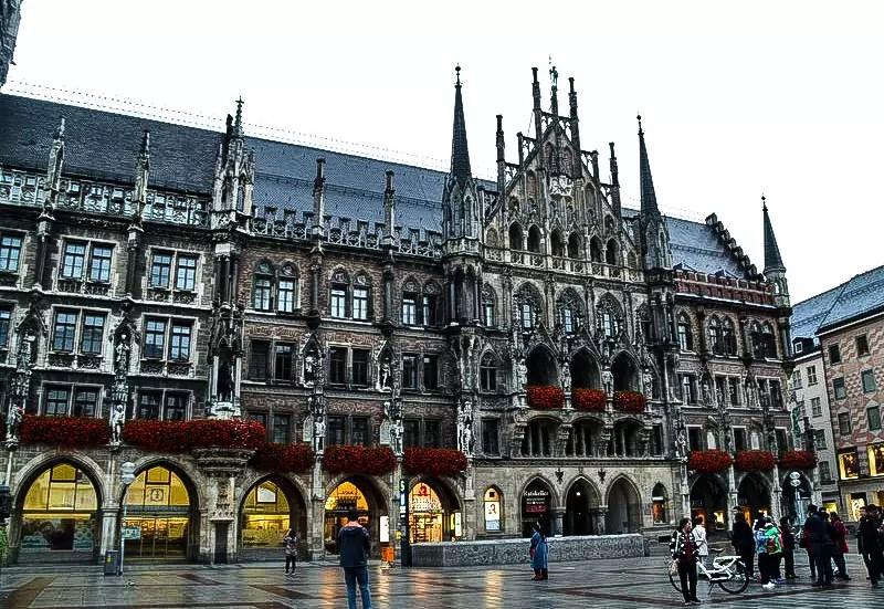 München Rathaus am Marienplatz