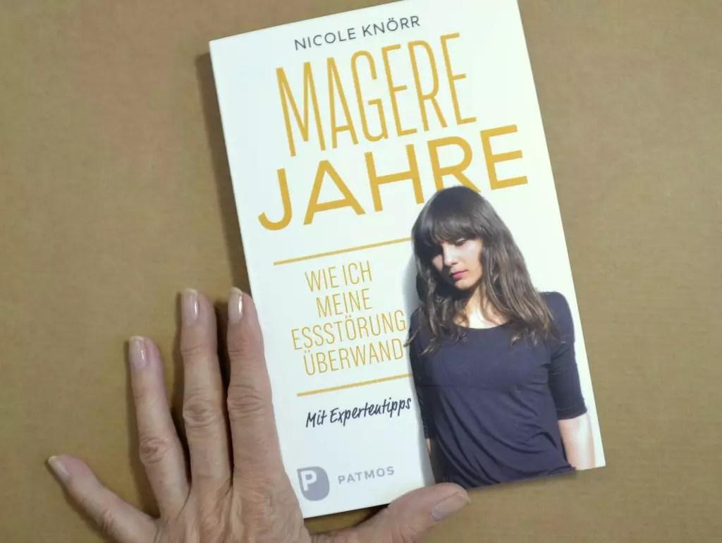 Buchcover Magere Jahre von Nicole Knörr