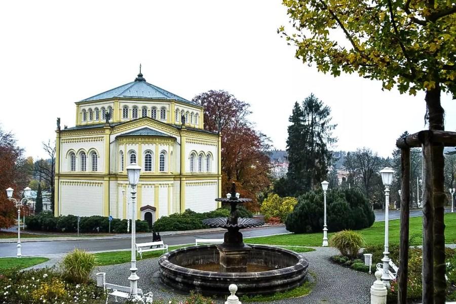 Marienbad im Herbst