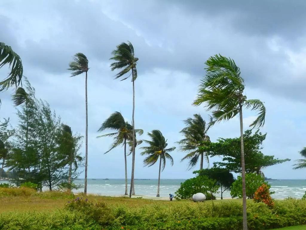 Strand in Asien