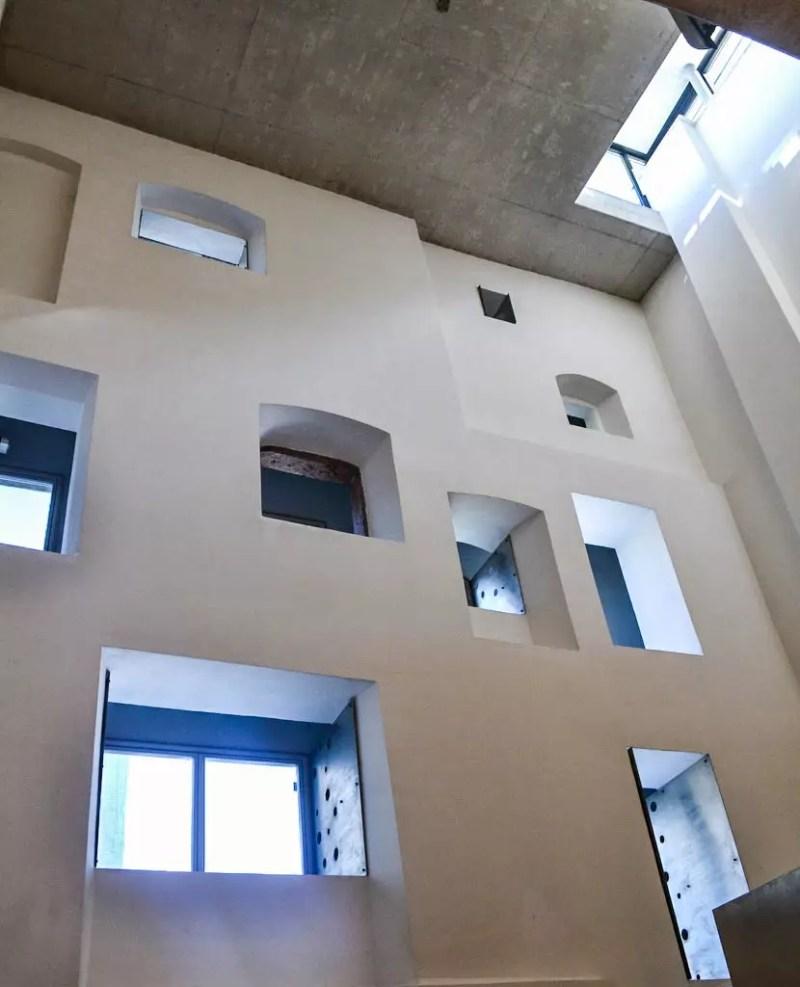 Fensterfront Keltenmuseum Hallein