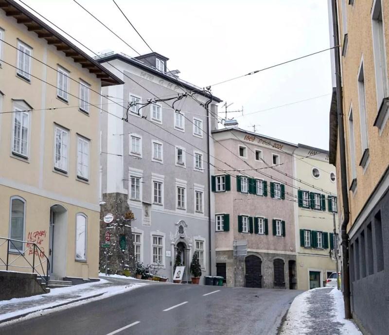 Salzburg Müllner Hauptstraße