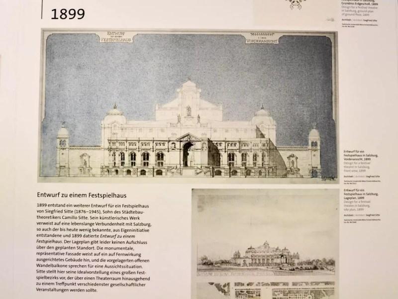 Ungebautes Festspielhaus Salzburg
