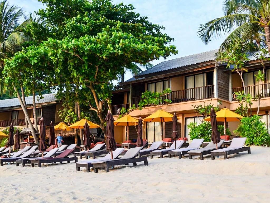 Koh Phangan fern ab vom Partyleben; das Buri Rasa Village Phangan