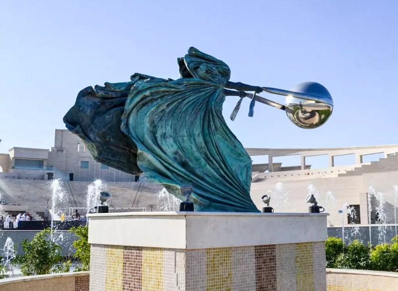Skulptur in Doha