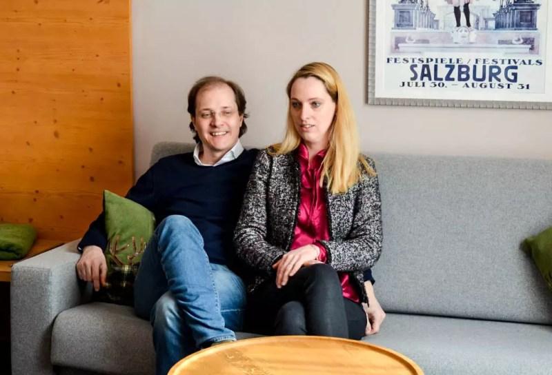 Linda Sebastian und Fabian Sigl