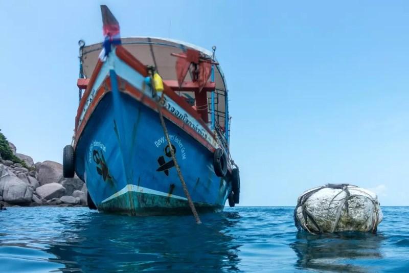 Tauchboot von DJL Koh Tao