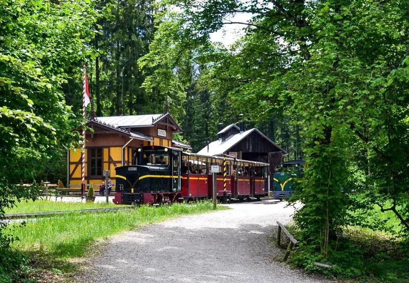 Zug im Freilichtmuseum