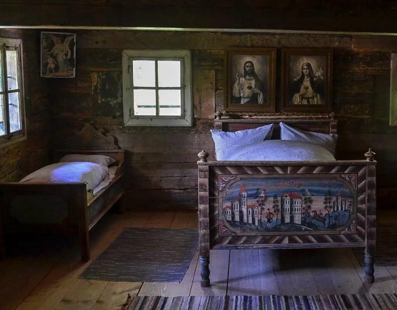 Schlafzimmer Bauernhaus