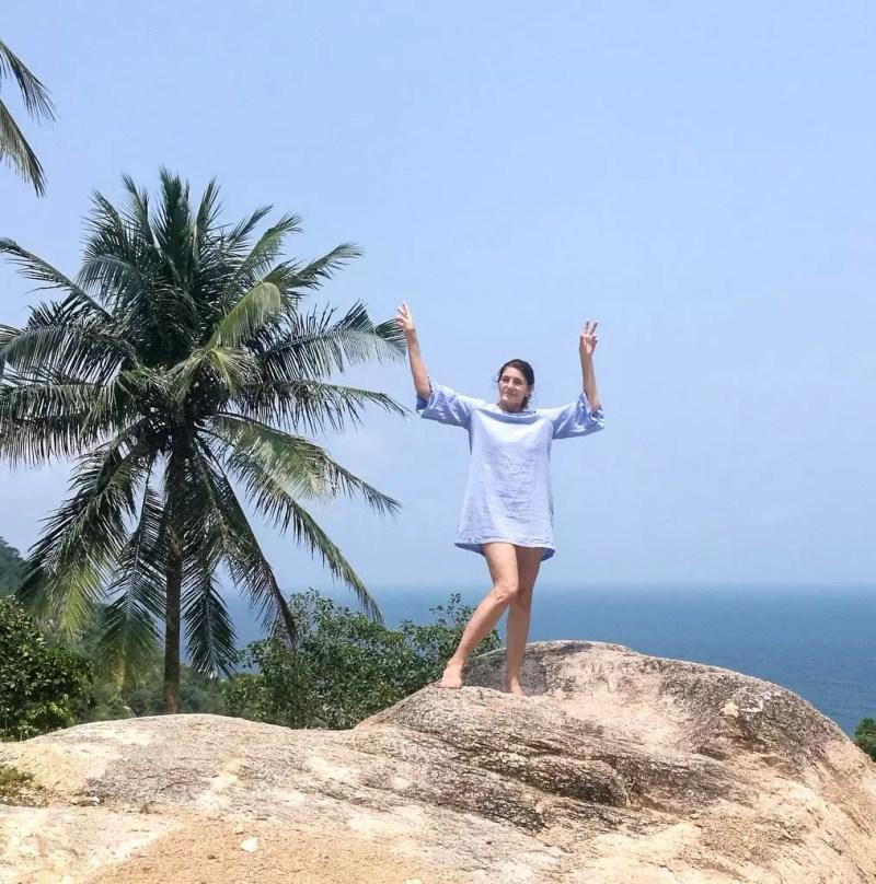 Koh tao im Golf von Thailand