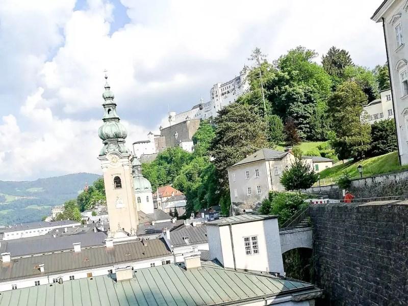 Altstadt Salzburg mit Festung