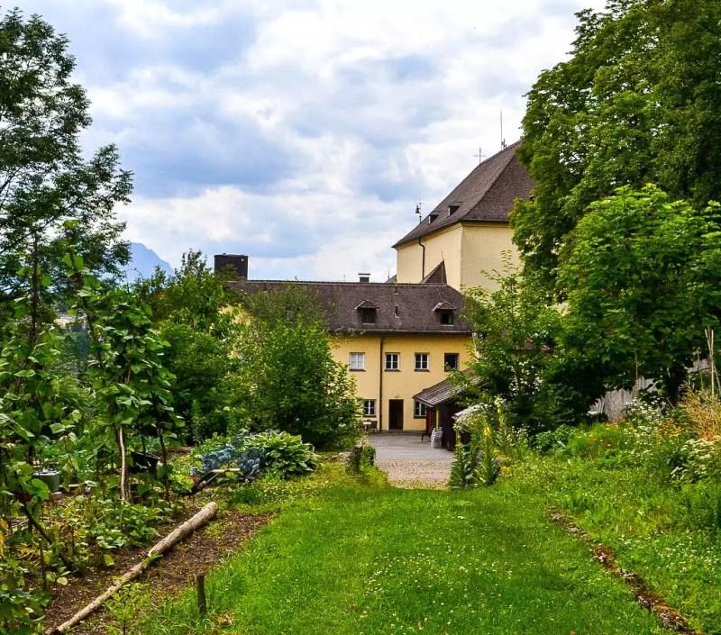 Klostergarten Kapuzinerkloster