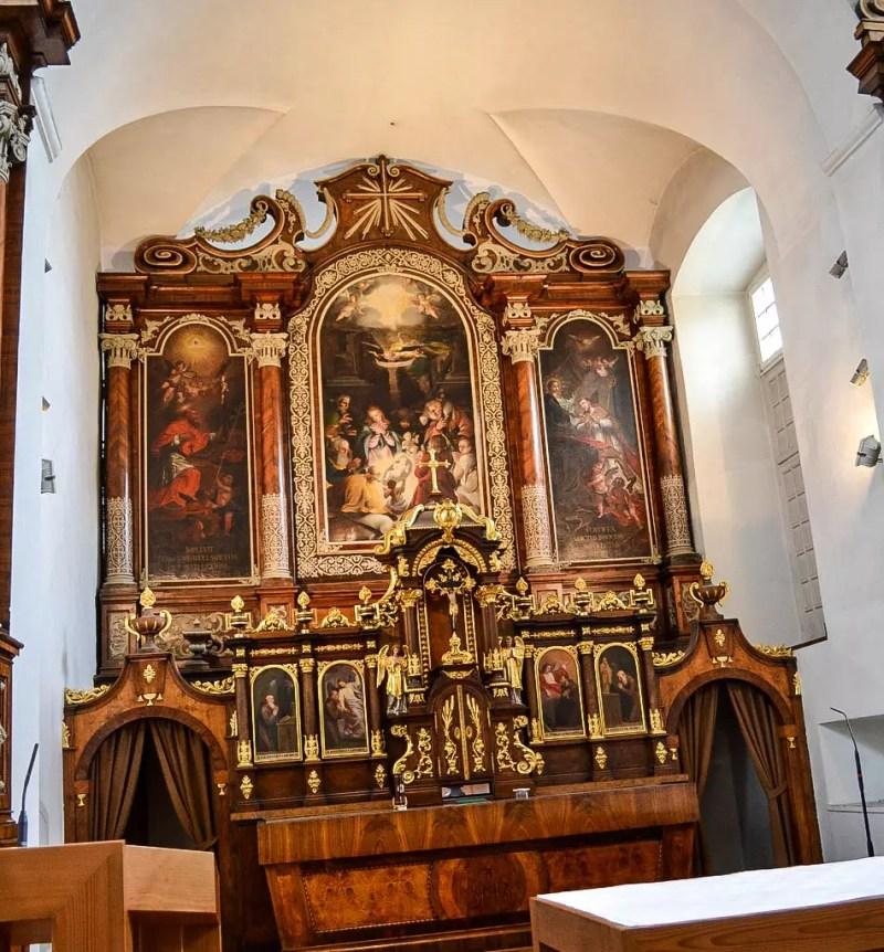 Kirche Kapuzinerkloster