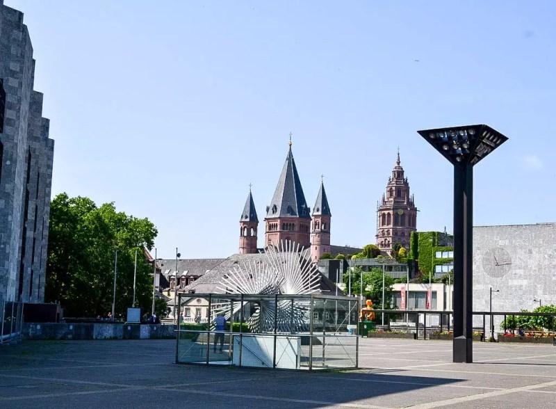 Blick auf den Mainzer Dom