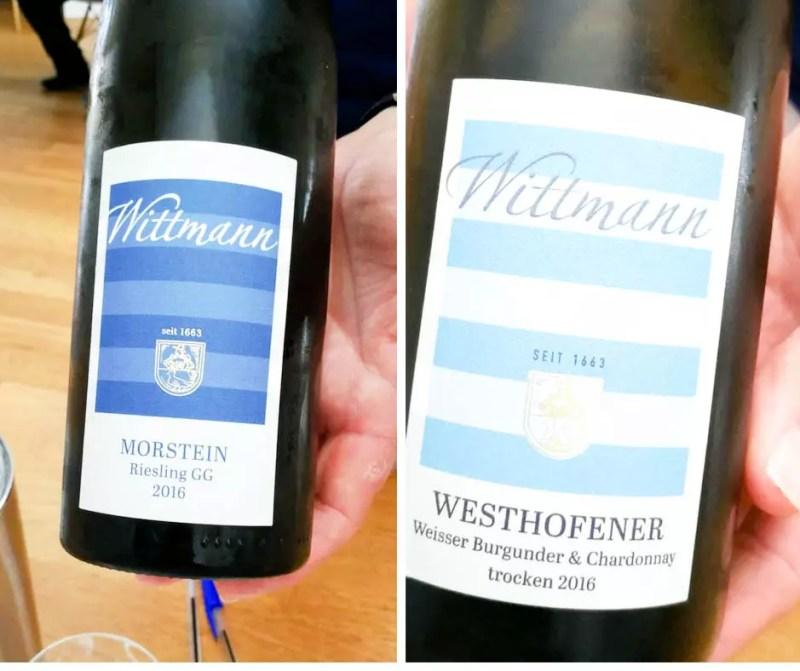 Weingut Wittmann Weinflaschen