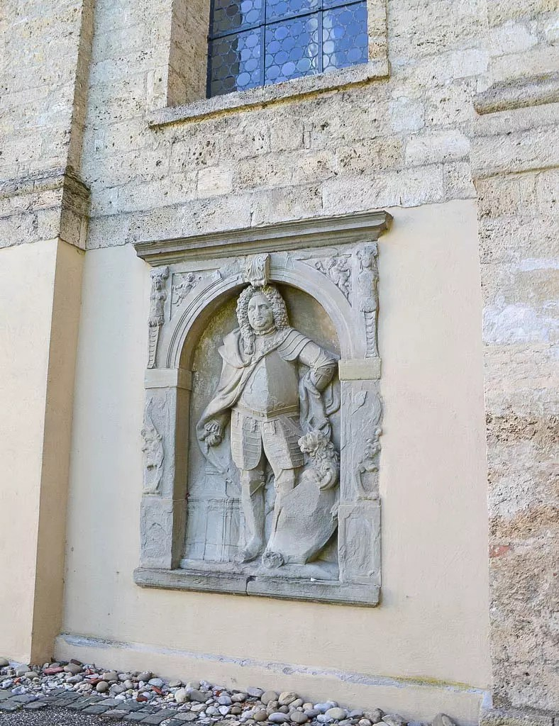 Relief Kirche Wolfegg