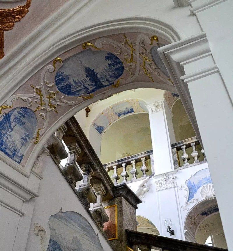 Stiege im Kloster Ottobeuren