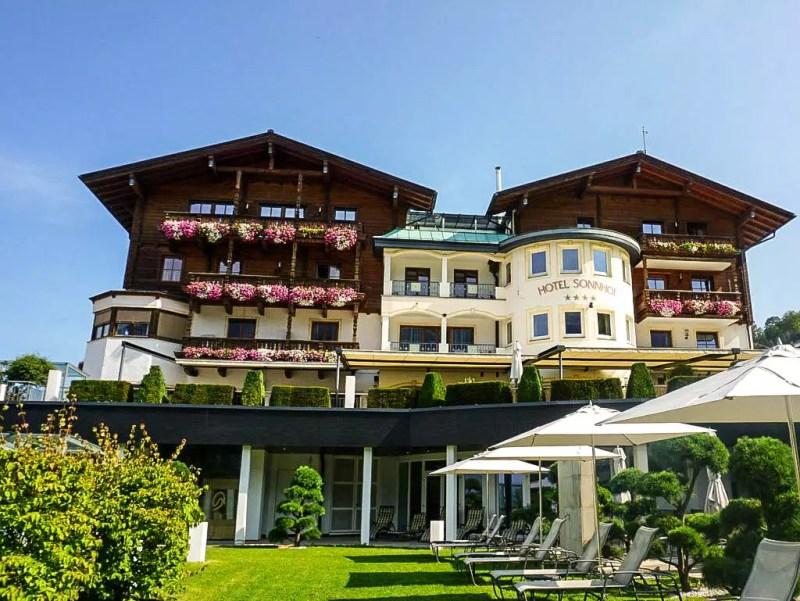 außenansicht Sonnhof Alpendorf