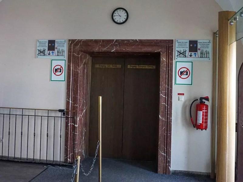 Aufzug im Kehlsteinhaus
