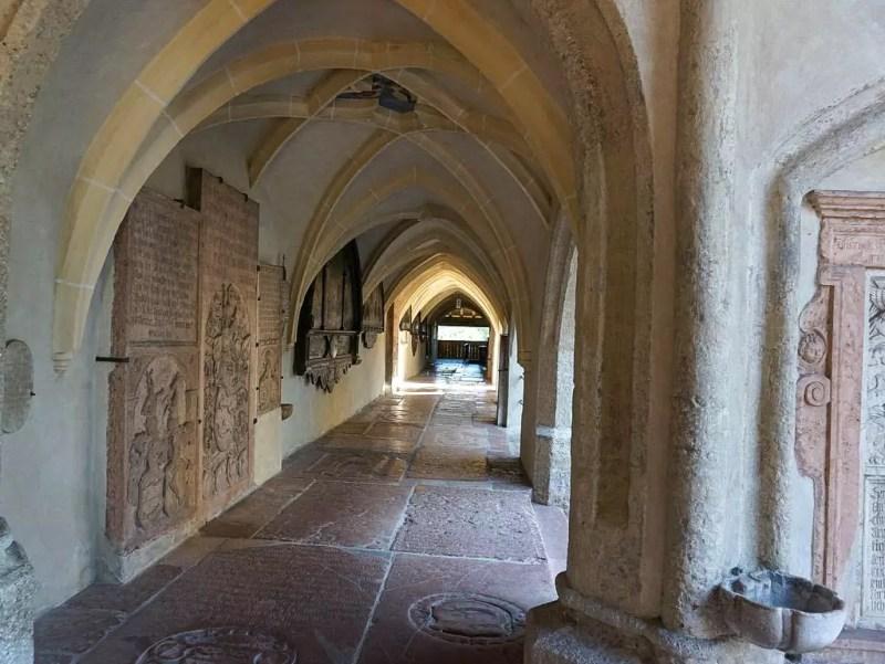 Stiftskirche Laufen Kreuzgang