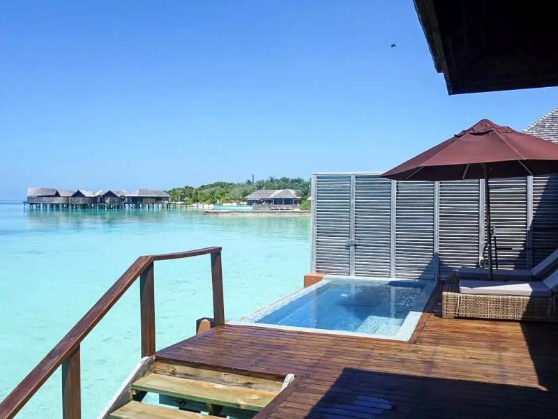 Terrasse Water Villa Lily Beach