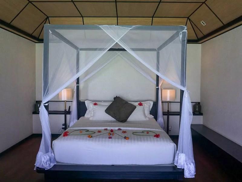Schlafzimmer Water Villa