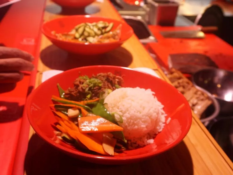 Essen im Maneki Neko