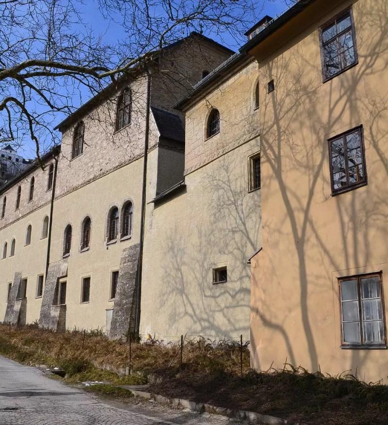 Stift Nonnberg Außenbereich