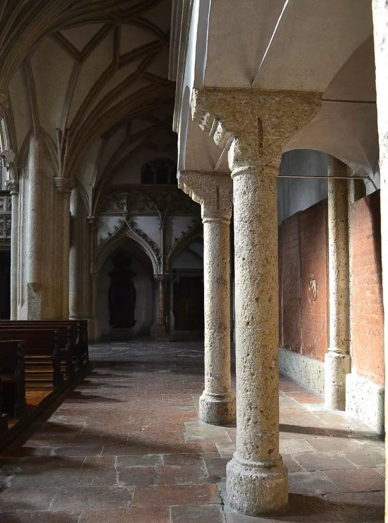 Säulengang Stift Nonnberg