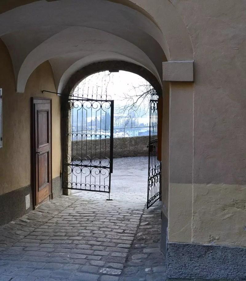 Ausgang Stiftskirche Nonnberg