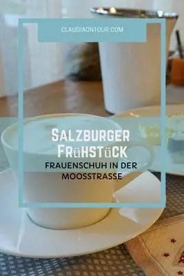 Frühstück im Hotel Frauenschuh in Salzburg