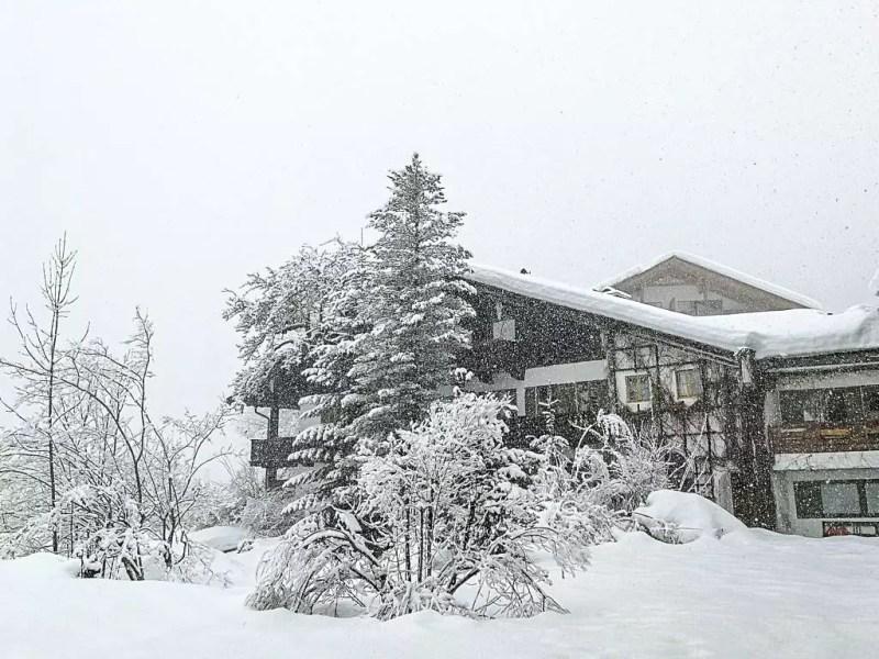 Rehlegg im Winter