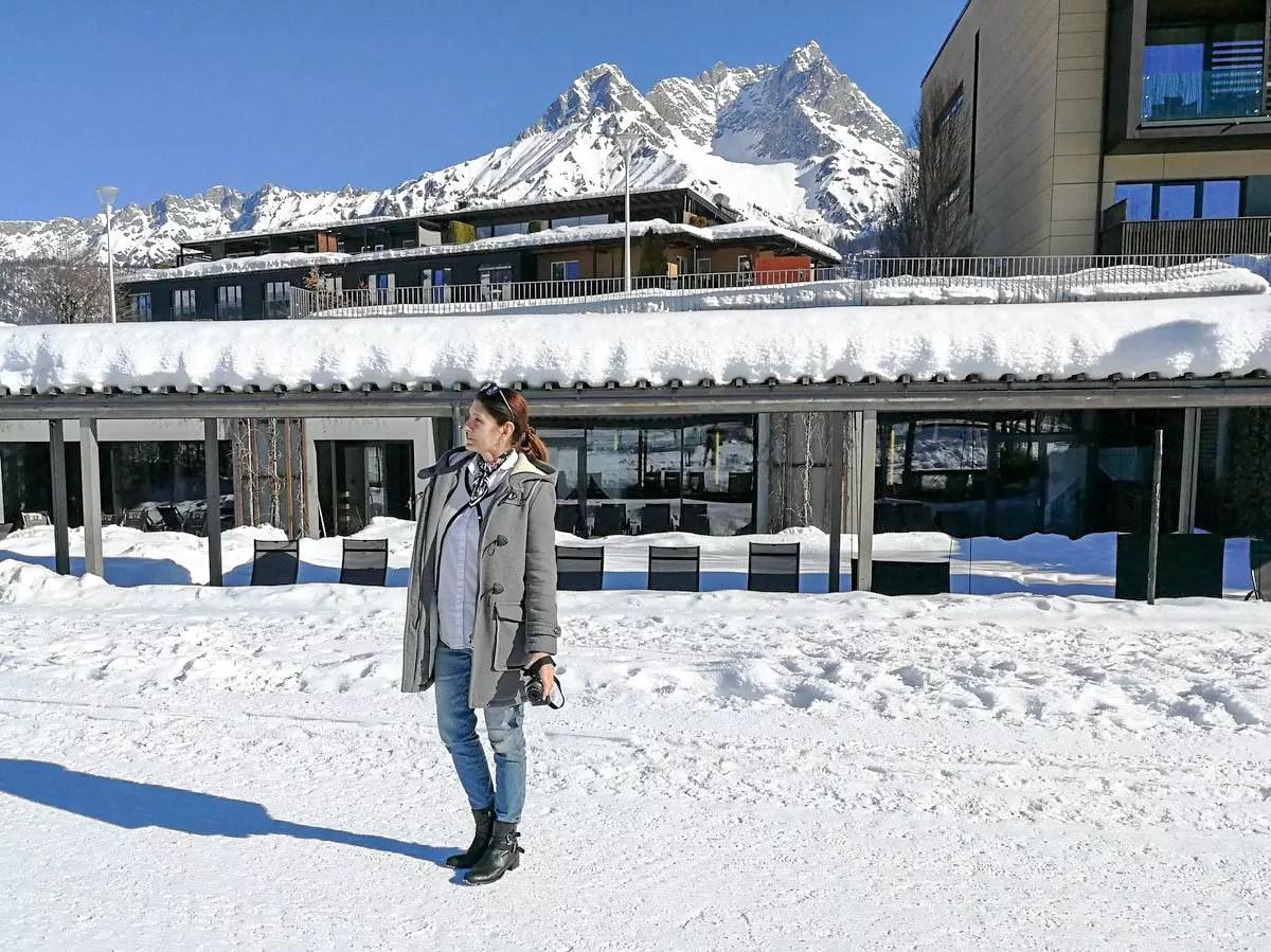 Hotel Ritzenhof im Winter