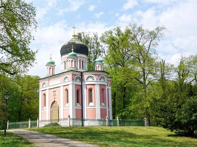 Russisch -orthodoxe Kirche Potsdam