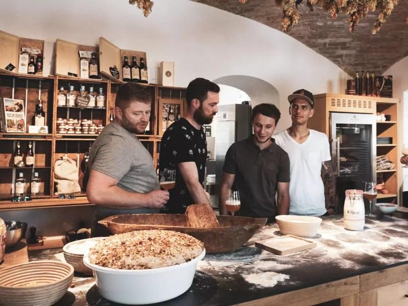 Bäcker in Wildshut, Workshop