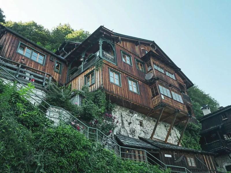 Holzhaus in Hallstatt