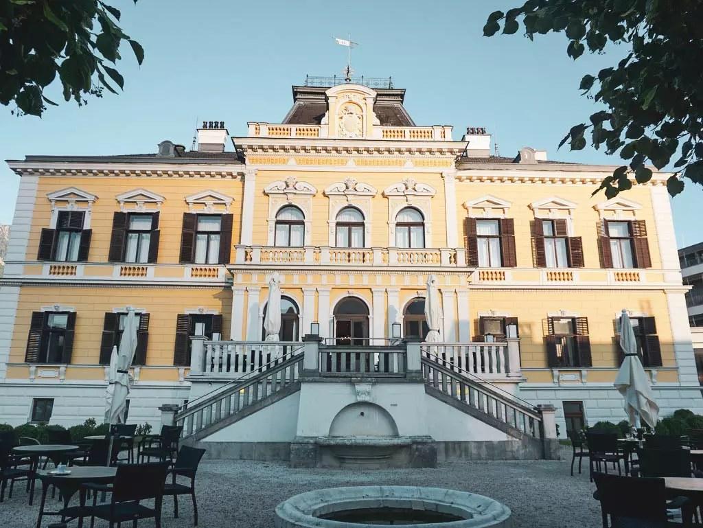 Aussenansicht Villa Seilern