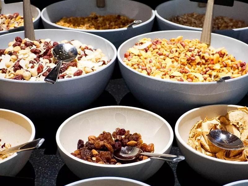 Cerealien Frühstücksbuffet Edelweiss