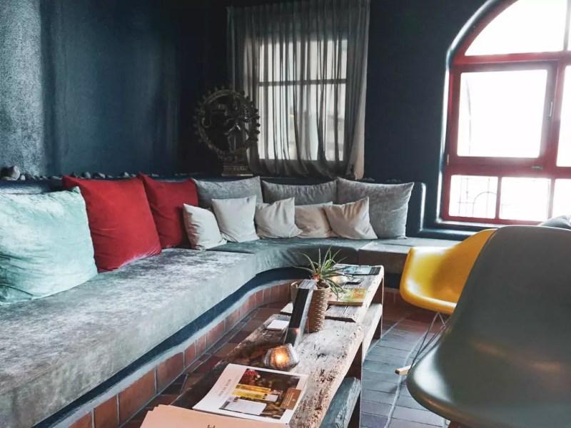 Wartebereich Beauty Lounge