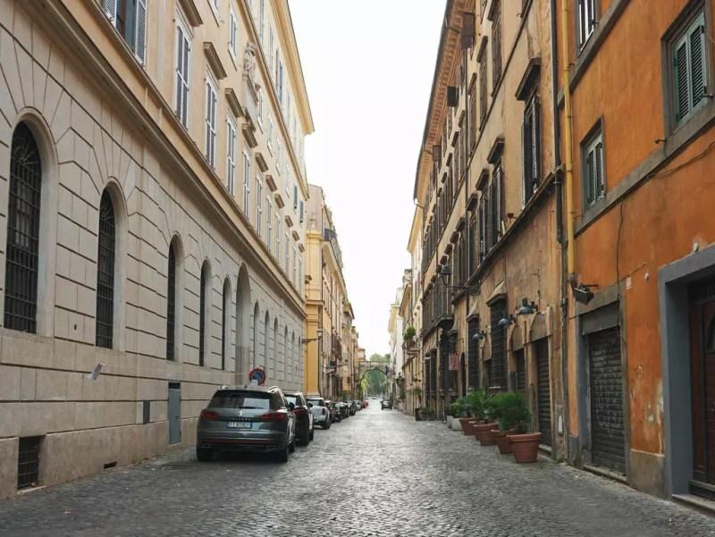 Via Giuglia Rom