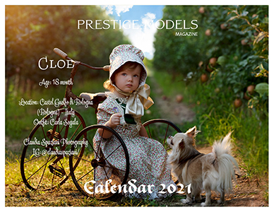 Prestige Models Magazine Calendario 2021
