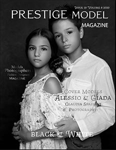 Copertina Prestige Model Magazine