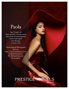 Prestige Models Magazine agosto 2020
