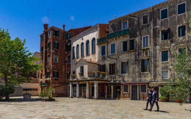 Venezia, Cannaregio, campo del Ghetto